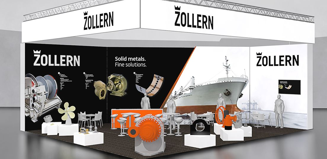 Referenz Zollern Messe Simulation Messestand SMM