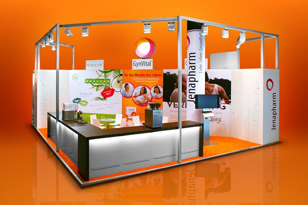 Referenz Jenapharm Messe