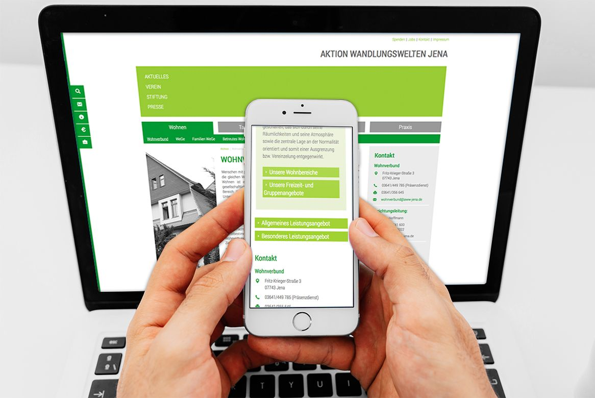 Referenz AWW responsive Webdesign